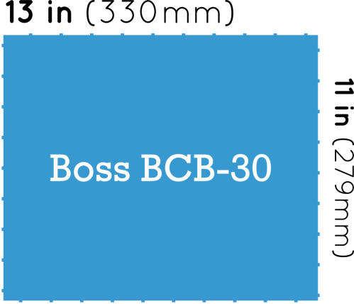 small resolution of boss bcb 30 pedalboard dimensions