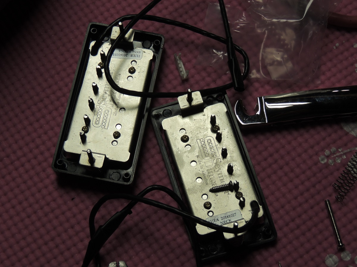 hight resolution of new seymour duncan saturday night special pickups
