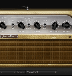 amp settings used for testing the upgraded epiphone sg [ 2302 x 893 Pixel ]