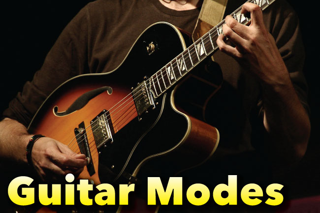 Guitar Modes Tab, Notation & Fretboard Diagrams