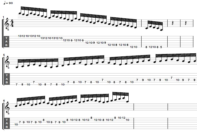 How to Play Shred Guitar Sequences