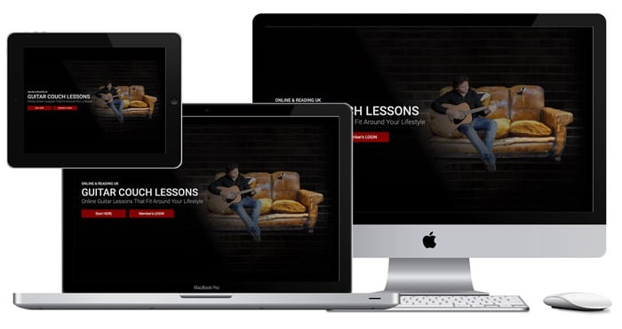 Online Guitar Lessons | Guitar Couch Lessons