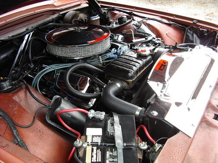 1965 TBird Engine Compartment