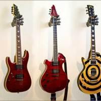 3 modèles cools de support mural pour guitare