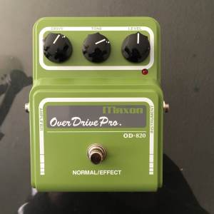 Setting an Overdrive up for Lead Guitar Tones