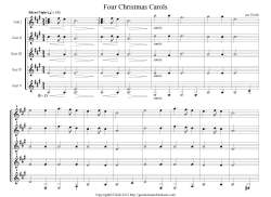 Four Christmas Carols S preview