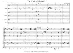 Ladino Folksong