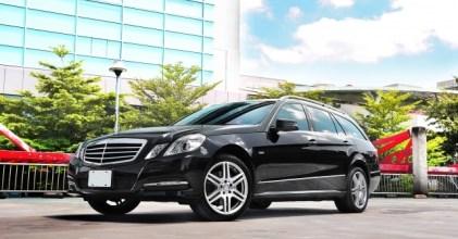 –沉穩實用– Mercedes Benz W212 E-Class Estate 亮黑開箱拍攝