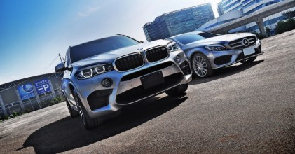 –夢幻五馬– BMW F85 X5M & Mercedes Benz W205 C250 同場開箱拍攝