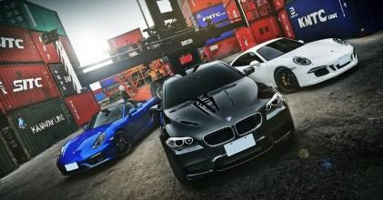 –痞子英雄– BMW F10 M5 & Porsche 991 GTS 重裝開箱拍攝