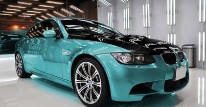 BMW E92 M3 換色實驗