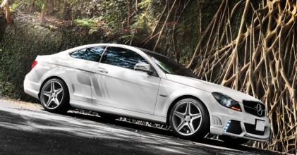 –日式暴力– Mercedes Benz C Coupe WALD style Package 拍攝開箱