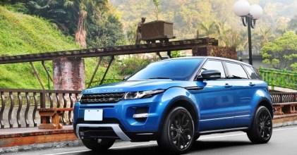 –來自未來– Range Rover Evoque 幻藍開箱拍攝