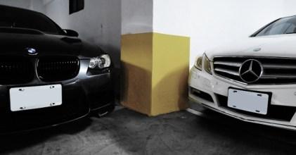 BMW E92 M3 & Benz C207 E 350 Coupe