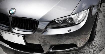 BMW E92 M3 Carbon定風翼加裝 分享