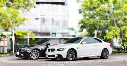 –琴鍵之間– BMW E92 M3 黑白 同場開箱拍攝
