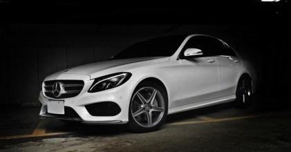 –小S來了– Mercedes Benz 賓士 W205 C250 AMG Line勢洶洶 開箱拍攝