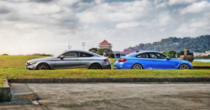 –MC Hot 鬥– 賓士C63s Coupe ED1 vs BMW M4 瑜亮爭鋒拍攝分享 By 吉他腳GuitarFeet