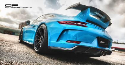 蒼藍猛蛙 – Porsche 保時捷991.2 GT3 拆光重生 TECHART 重裝上身分享 By 吉他腳 GuitarFeet