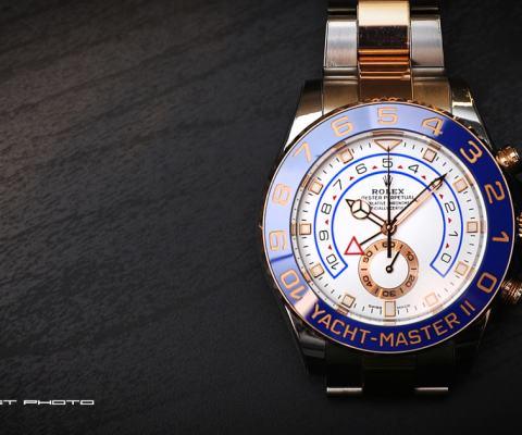 半金大艇 – 勞力士 Rolex 116681 Yacht Master II 44mm 手骨要粗 簡易開箱分享 By 吉他腳 GuitarFeet