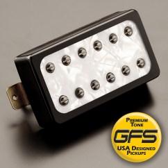 Gfs Dream 180 Wiring Diagram For Capacitor Start Fan Motor Vintage Jangle Tuxedo White Pearl Black Neck Pickup