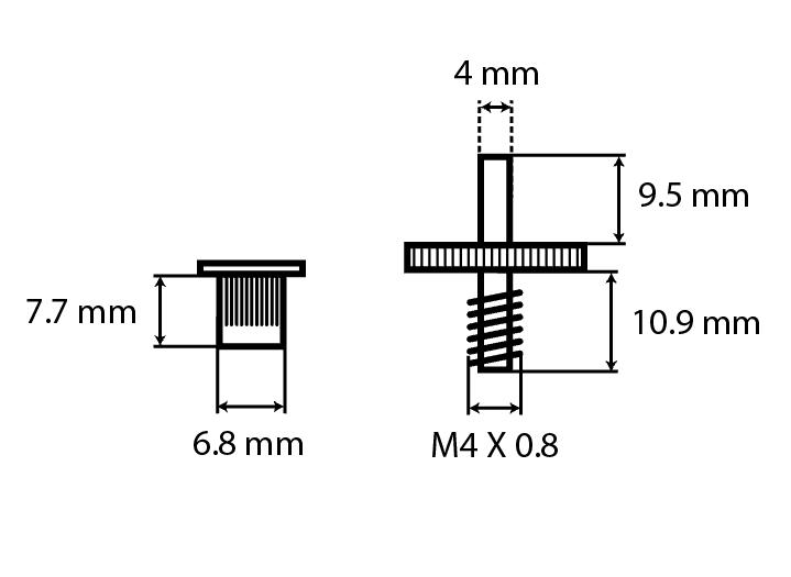XGP USA Gibson fit Nickel Tuneomatic Bridge- BRASS Saddles