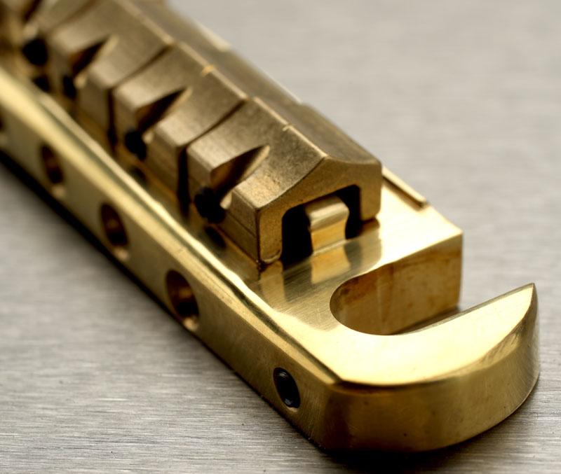 XGP Brand SOLID BRASS Slick Guitars wraparound Bridge