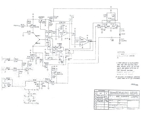small resolution of schematic envelope generator board click on image to download full sized version