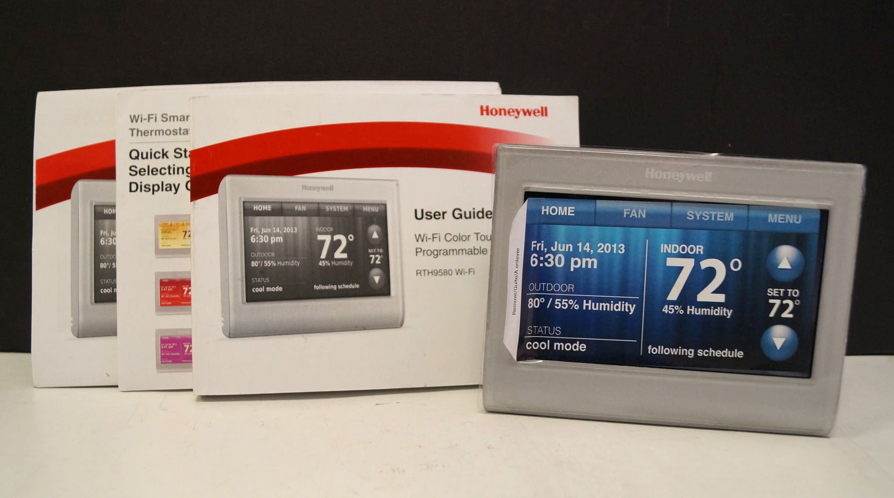 honeywell rth9580wf youtube pace american trailer wiring diagram smart thermostat wifi control from anywhere