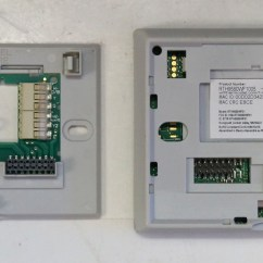 Honeywell Thermostat Wiring Diagram Rth3100c Back Of Head Sinus 9580 3 Wire Zone Valve