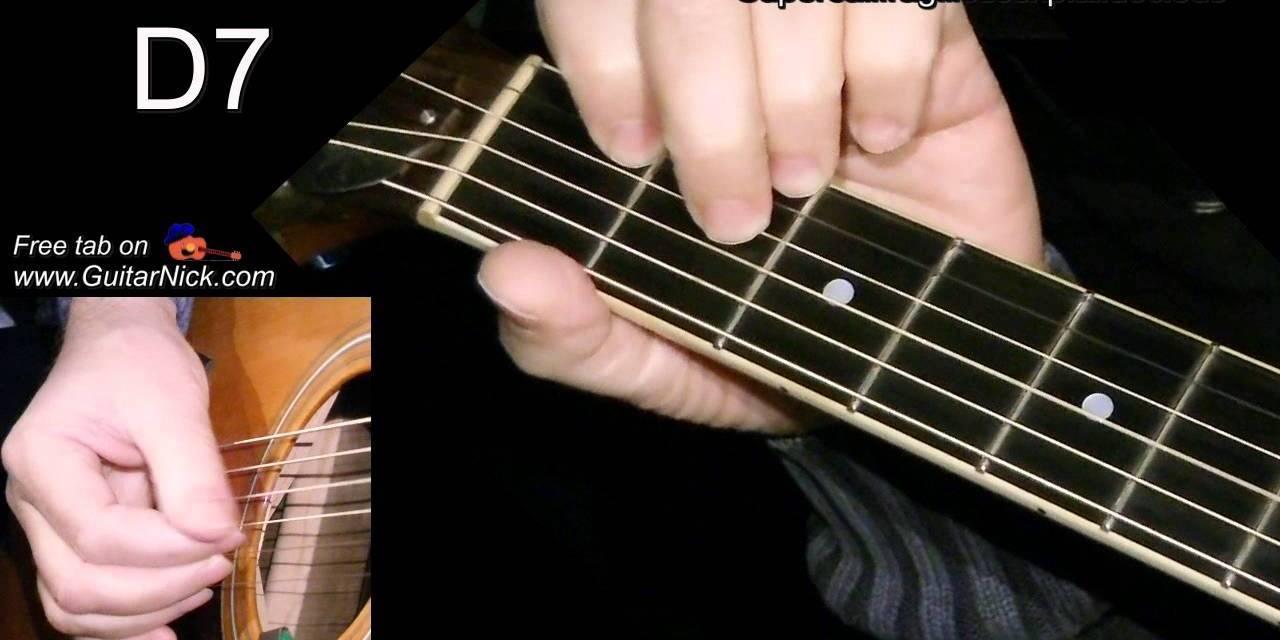 Supercalifragilisticexpialidocious Easy Guitar Lesson Tab