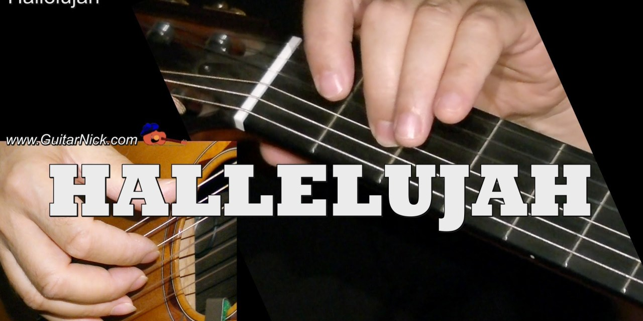 Hallelujah Easy Guitar Lesson Tab Chords By Guitarnick Guitar