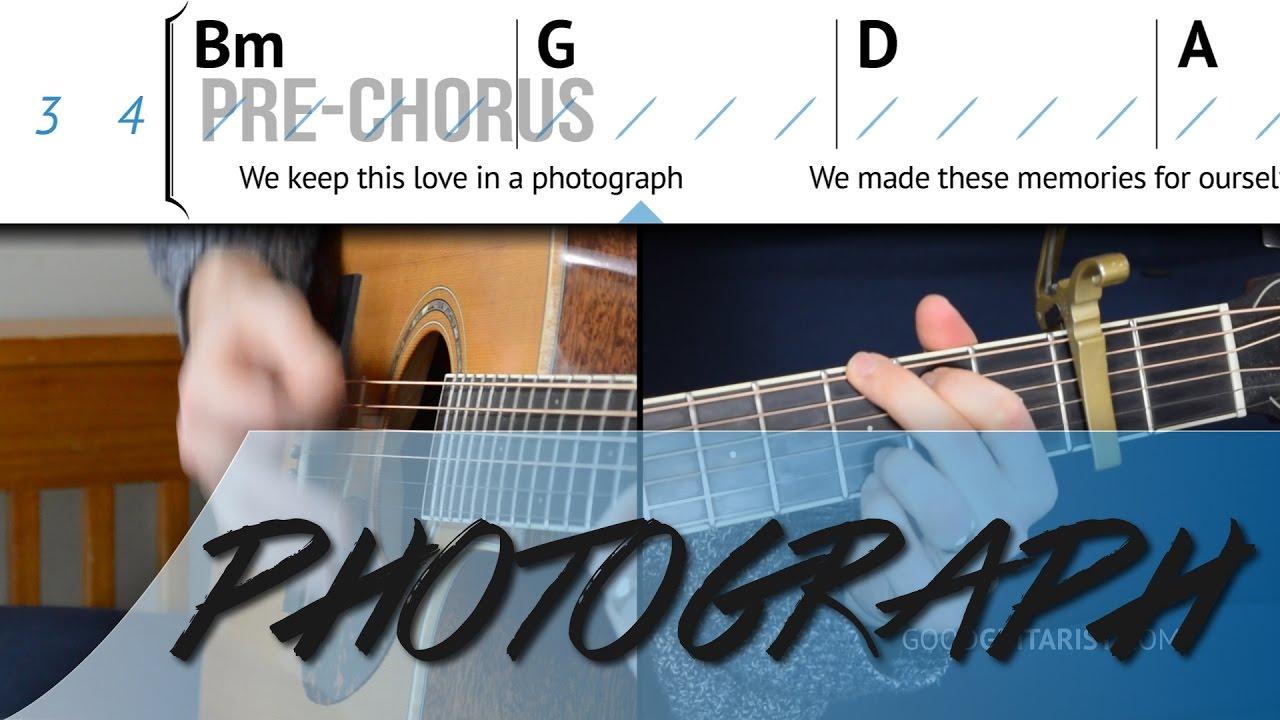 ed sheeran photograph chords easy