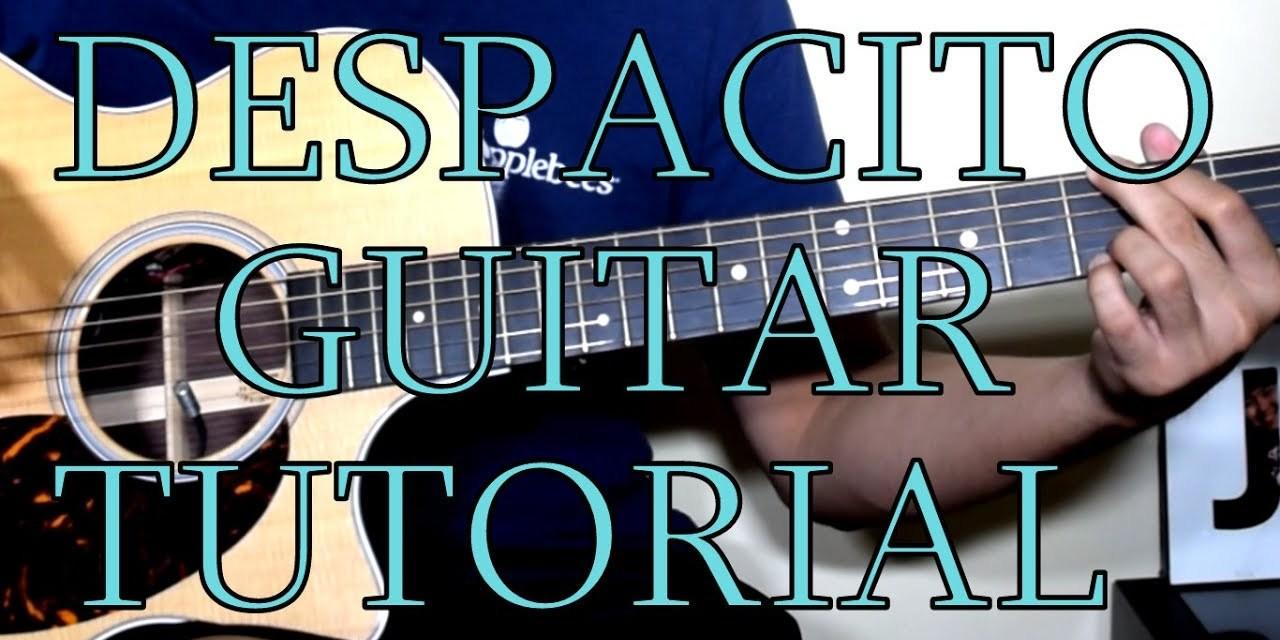 Despacito Very Easy Guitar Chords Tutorial Guitar Grotto