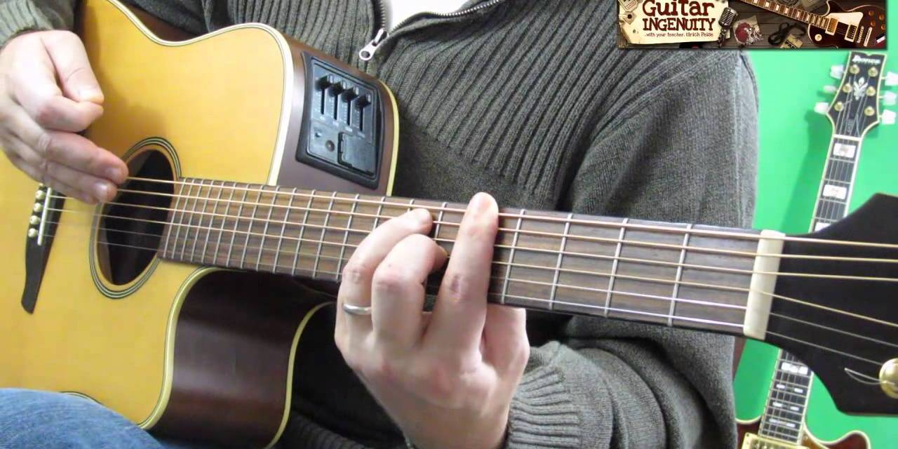 F Chord Guitar Easy Tutorial Easy F Guitar Chord Lesson Guitar
