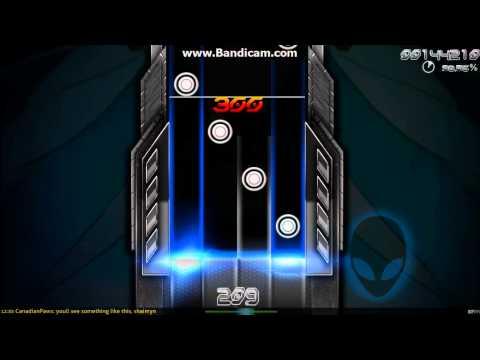Osu!Mania] Alienware Alliance Skin Preview   Guitar Grotto