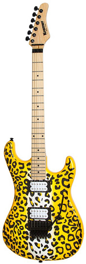Kramer Ltd Satchel Pacer Vintage Yellow Leopard