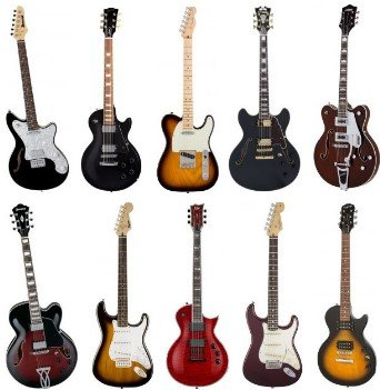 electric guitar styles
