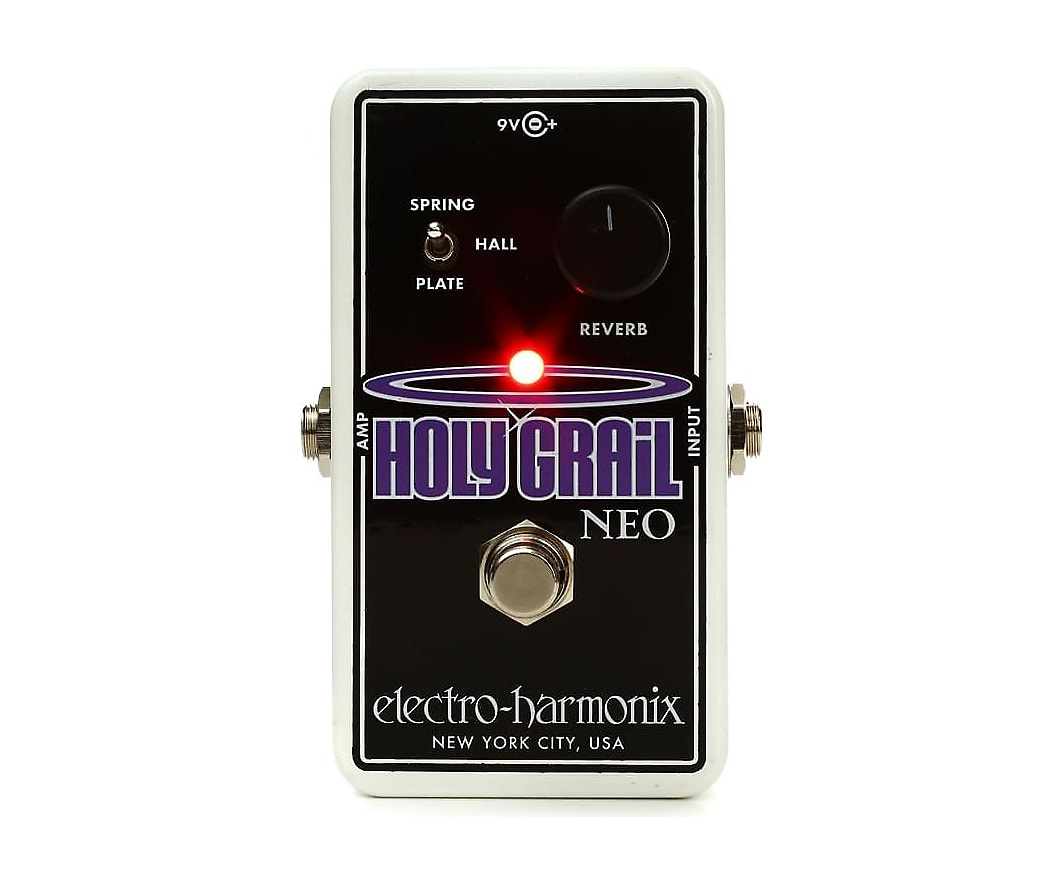 electro harmonix holy grail neo reverb pedal the guitar hangar. Black Bedroom Furniture Sets. Home Design Ideas
