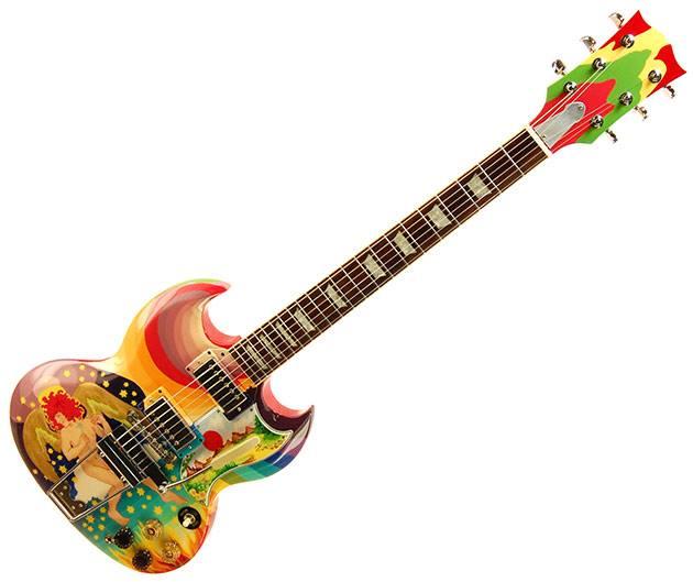 Gibson Eric Clapton Todd Rundgren Fool Sg Reproduction Guitar The Guitar Hangar