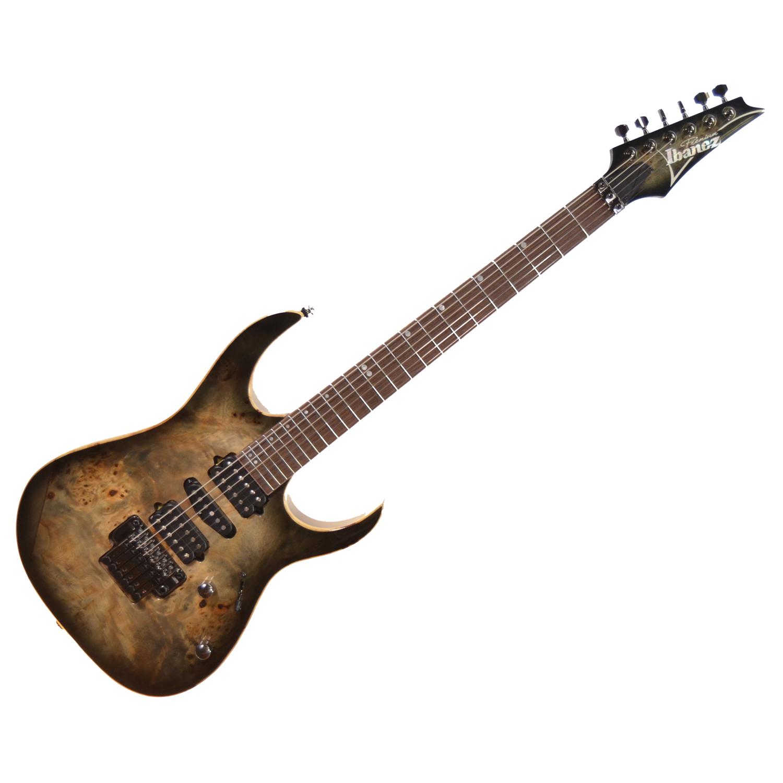 ibanez premium series rg1070pbz hsh electric guitar charcoal black burst the guitar hangar. Black Bedroom Furniture Sets. Home Design Ideas