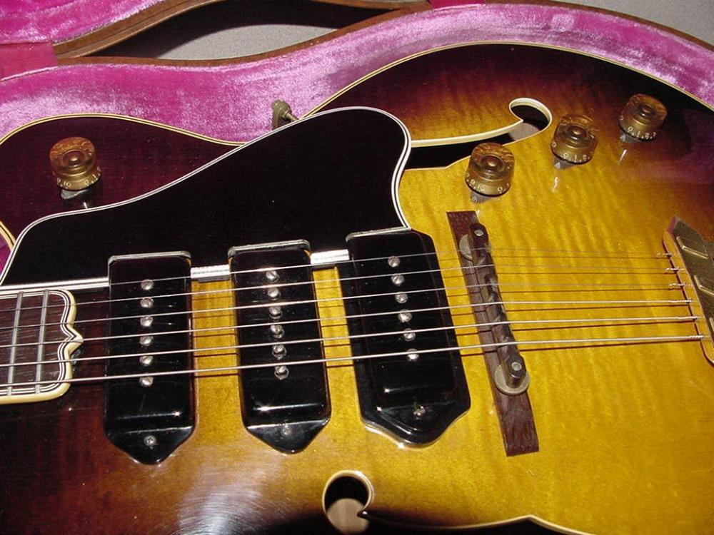 medium resolution of gibson es 5 guitar gibson es5 switchmaster guitar electric archtop vintage 1949 to 1962