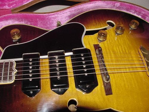 small resolution of gibson es 5 guitar gibson es5 switchmaster guitar electric archtop vintage 1949 to 1962