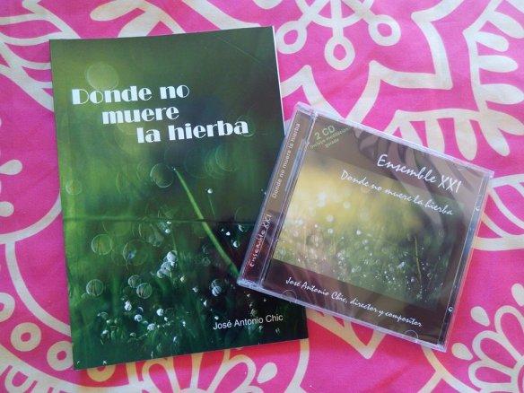 Cd y libro Donde no muere la hierba