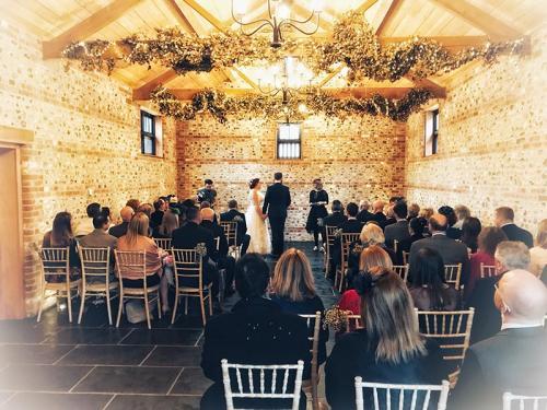 Will & Vicci's wedding ceremony
