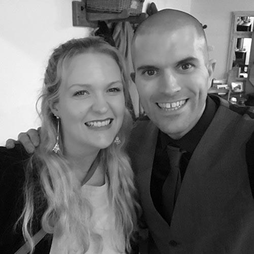 Selfie with Helen of I Do Weddings!