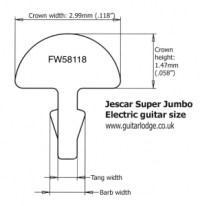 √ Guitar Fret Size Chart | The Guitar Fretboard Explained