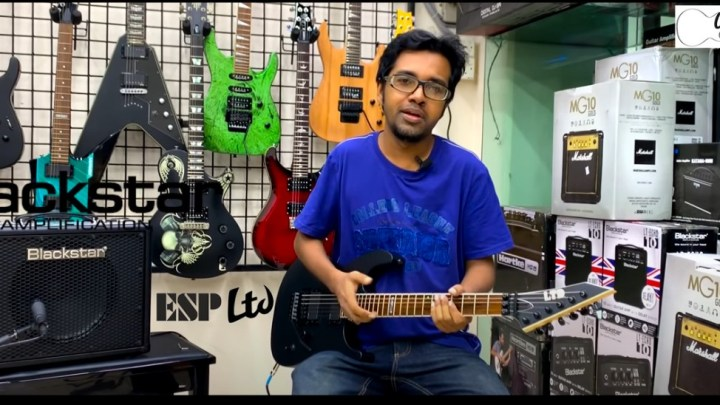 ESP LTD M-400 Review by Sazzad Arefeen in Bangla