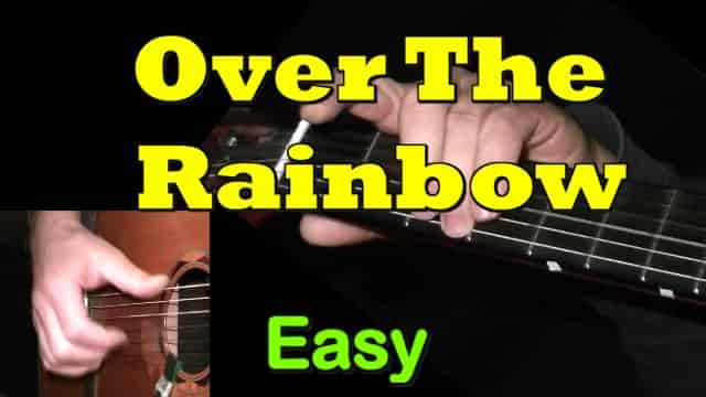Over Rainbow Guitar Chords Beginners