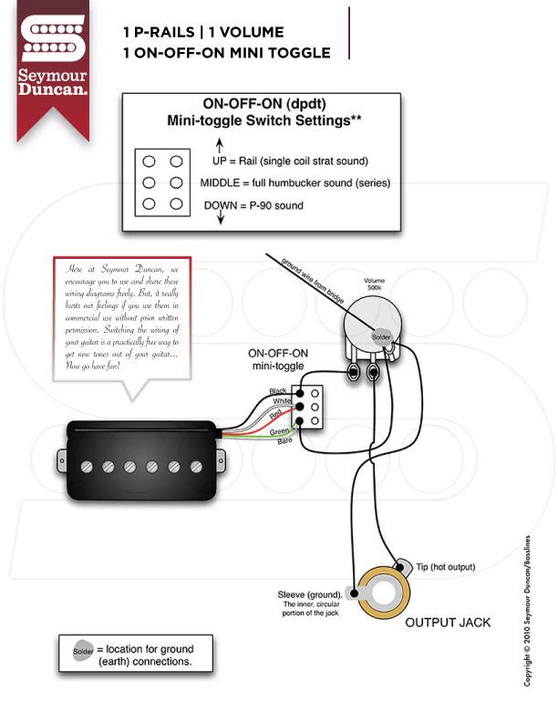 Dimarzio 3 Way Switch Wiring Diagram - Nekani.com